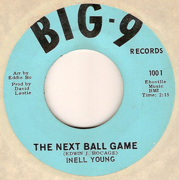 2. Inell Young, The Next Ball Game (Big-9)